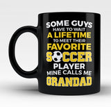 Favorite Soccer Player - Mine Calls Me Grandad - Mug