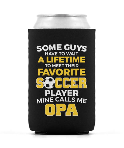 Favorite Soccer Player - Mine Calls Me Opa - Can Cooler