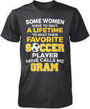 Favorite Soccer Player - Mine Calls Me Gram