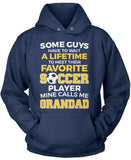 Favorite Soccer Player - Mine Calls Me Grandad