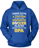 Favorite Soccer Player - Mine Calls Me Opa