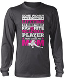 Favorite Volleyball Player - Mine Calls Me Mom Longsleeve T-Shirt