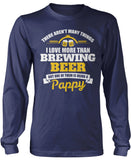 This Pappy Loves Brewing Beer