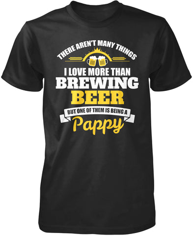 This Pappy Loves Brewing Beer T-Shirt