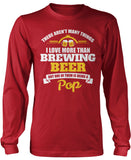 This Pop Loves Brewing Beer