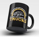Only the Coolest Grandads Drive Trucks - Mug