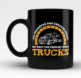 Only the Coolest Grandpas Drive Trucks - Mug