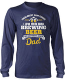 This Dad Loves Brewing Beer