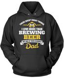 This Dad Loves Brewing Beer Pullover Hoodie Sweatshirt
