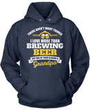 This Grandpa Loves Brewing Beer