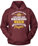 This Papa Loves Brewing Beer