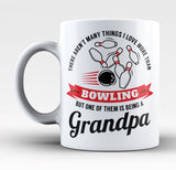 This Grandpa Loves Bowling - Mug