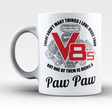 This Paw Paw Loves V8s - Mug