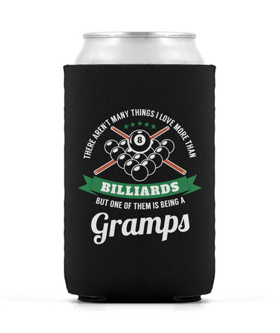 This Gramps Loves Billiards - Can Cooler