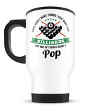 This Pop Loves Billiards - Travel Mug