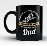 This Dad Loves Woodworking - Mug