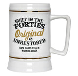 Built In the Forties - Beer Stein