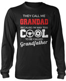 They Call Me Grandad Longsleeve T-Shirt