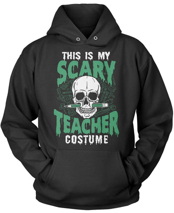 This Is My Scary Teacher Costume Pullover Hoodie Sweatshirt