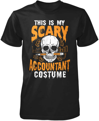This Is My Scary Accountant Costume - Premium T-Shirt / Black / S