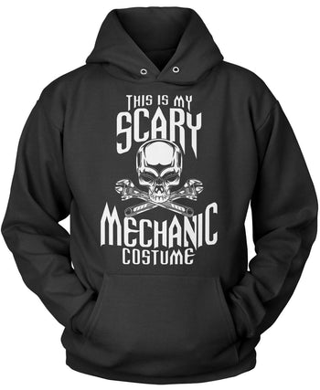 This Is My Scary Mechanic Costume - Pullover Hoodie / Black / S