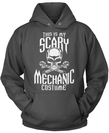 This Is My Scary Mechanic Costume - Pullover Hoodie / Dark Heather / S