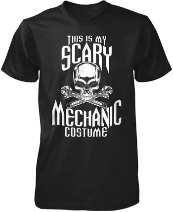 This Is My Scary Mechanic Costume T-Shirt