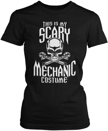 This Is My Scary Mechanic Costume Women's Fit T-Shirt
