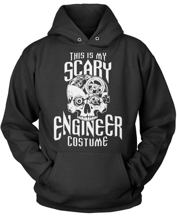 This Is My Scary Engineer Costume Pullover Hoodie Sweatshirt