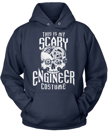 This Is My Scary Engineer Costume - Pullover Hoodie / Navy / S