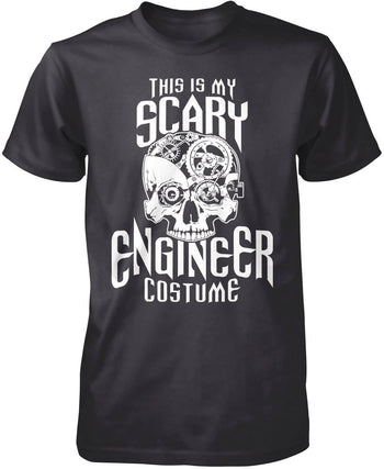 This Is My Scary Engineer Costume - Premium T-Shirt / Dark Heather / S