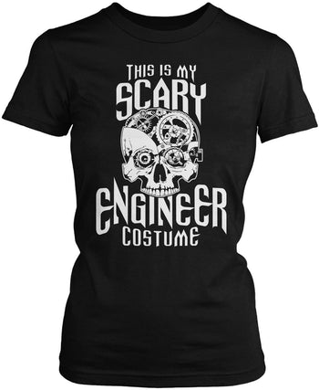 This Is My Scary Engineer Costume Women's Fit T-Shirt
