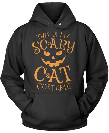 This Is My Scary Cat Costume Pullover Hoodie Sweatshirt