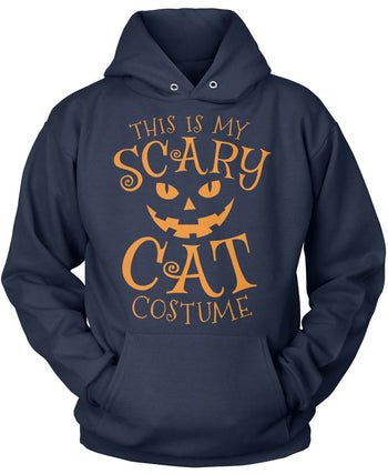 This Is My Scary Cat Costume - Pullover Hoodie / Navy / S
