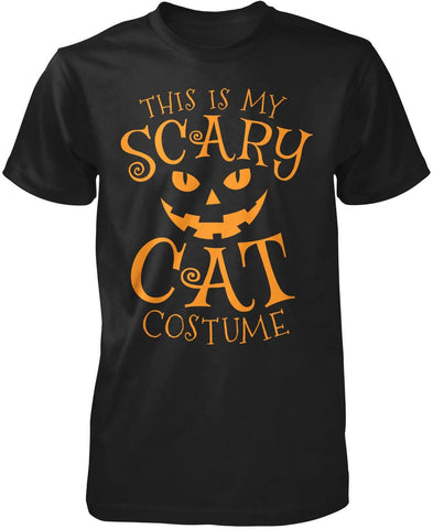 This Is My Scary Cat Costume T-Shirt