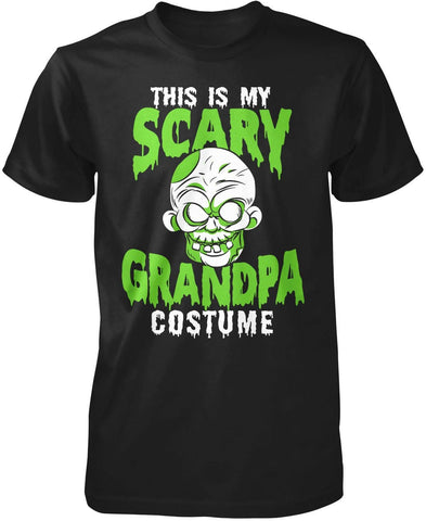 This Is My Scary Grandpa Costume Halloween T-Shirt