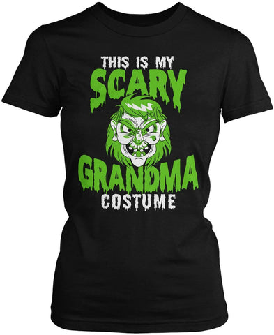 This Is My Scary Grandma Costume Women's Fit T-Shirt