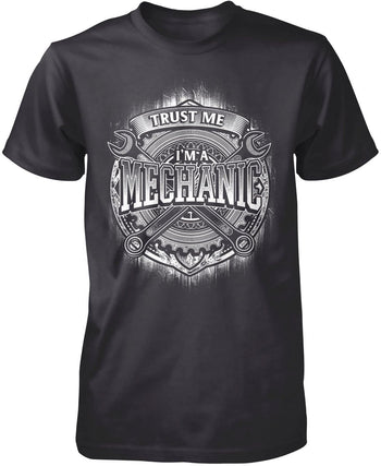 Trust Me I'm a Mechanic - Premium T-Shirt / Dark Heather / S