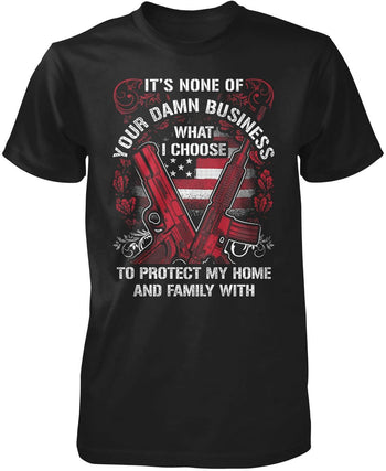 Protect My Family - T-Shirt / Hoodie