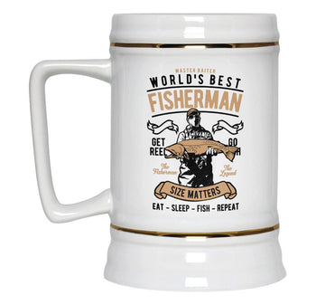 World's Best Fisherman - Beer Stein - [variant_title]