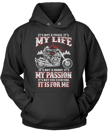 Motorcycles - My Life, My Passion Pullover Hoodie Sweatshirt