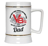 This Dad Loves V8s - Beer Stein