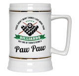 This Paw Paw Loves Billiards - Beer Stein