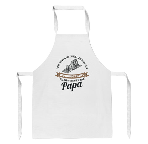 This Papa Loves Woodworking - Apron