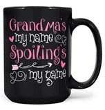 (Nickname)'s My Name Spoiling's My Game - Mug - Coffee Mugs