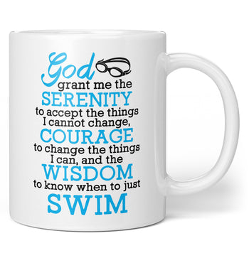 Swimming Serenity - Coffee Mug / Tea Cup