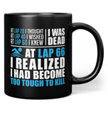 Swimming - Too Tough To Kill - Mug - Black / Regular - 11oz