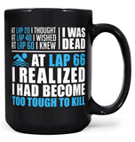 Swimming - Too Tough To Kill - Mug - Black / Large - 15oz
