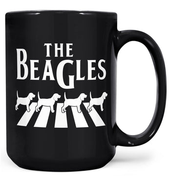 The Beagles - Mug - Black / Large - 15oz
