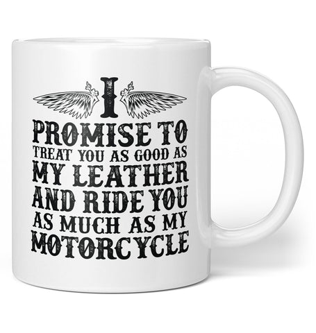 The Motorcycle Vow - Coffee Mug / Tea Cup